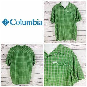 Columbia Mens Button-Up Short Sleeve Shirt